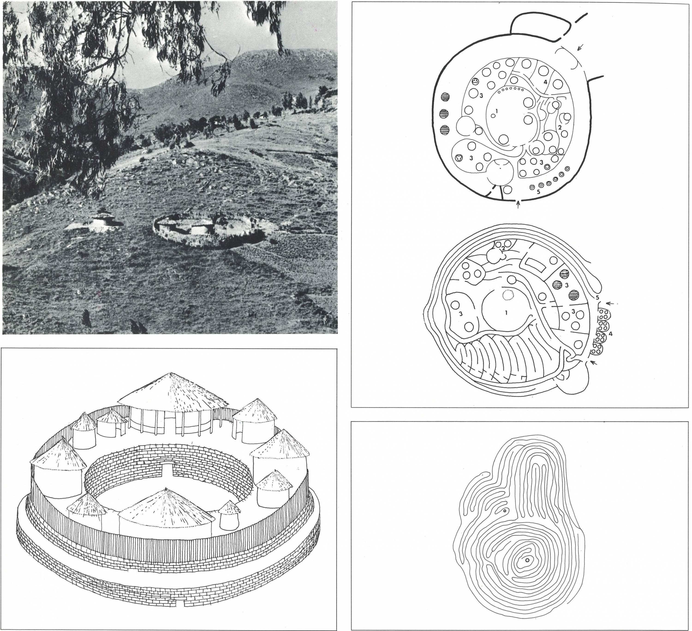 Ferme-enclos et kraal - extrait d'Architecture-primitive, Enrico Guidoni