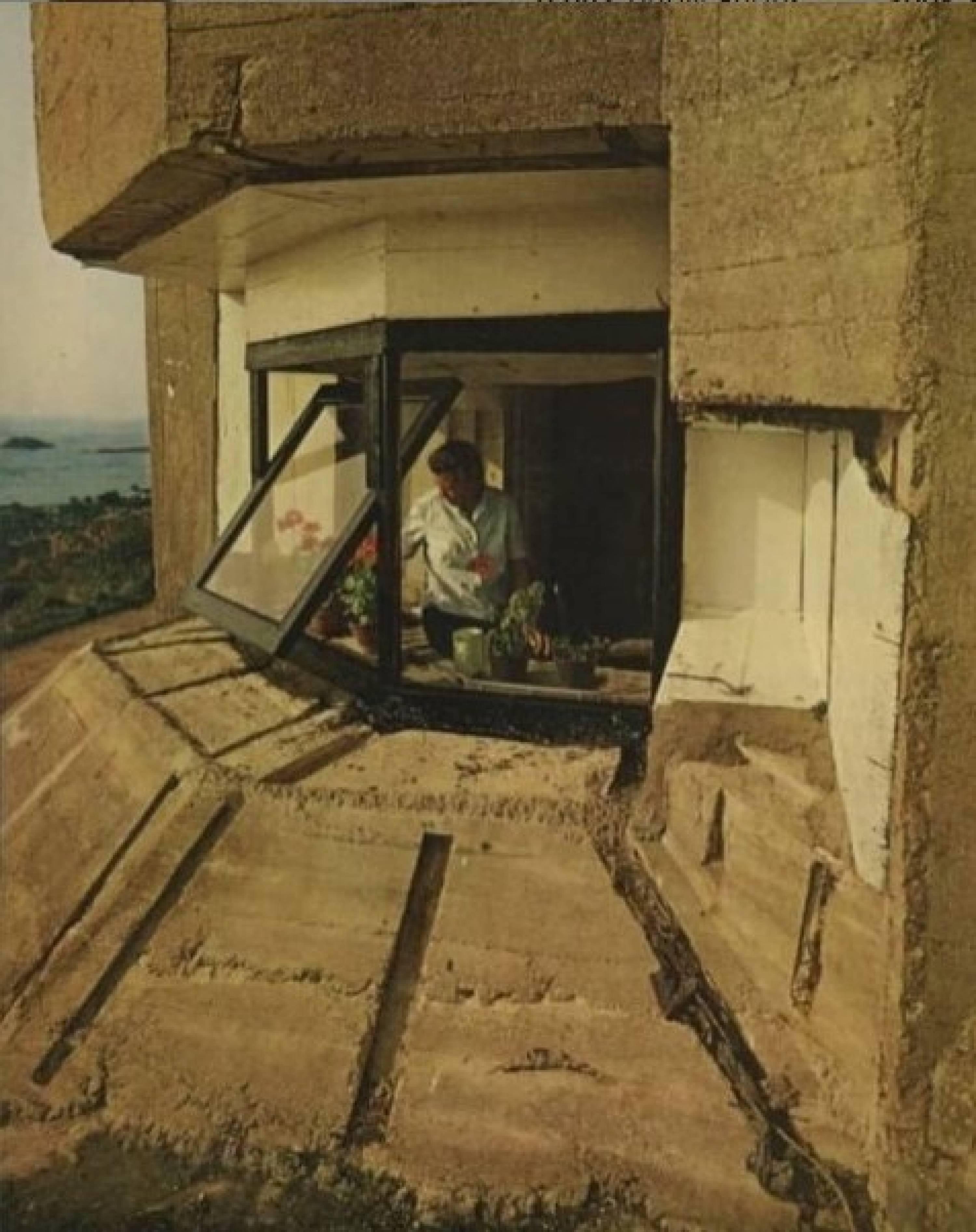 Bunker turned into habitation, Alderney, Channel Islands