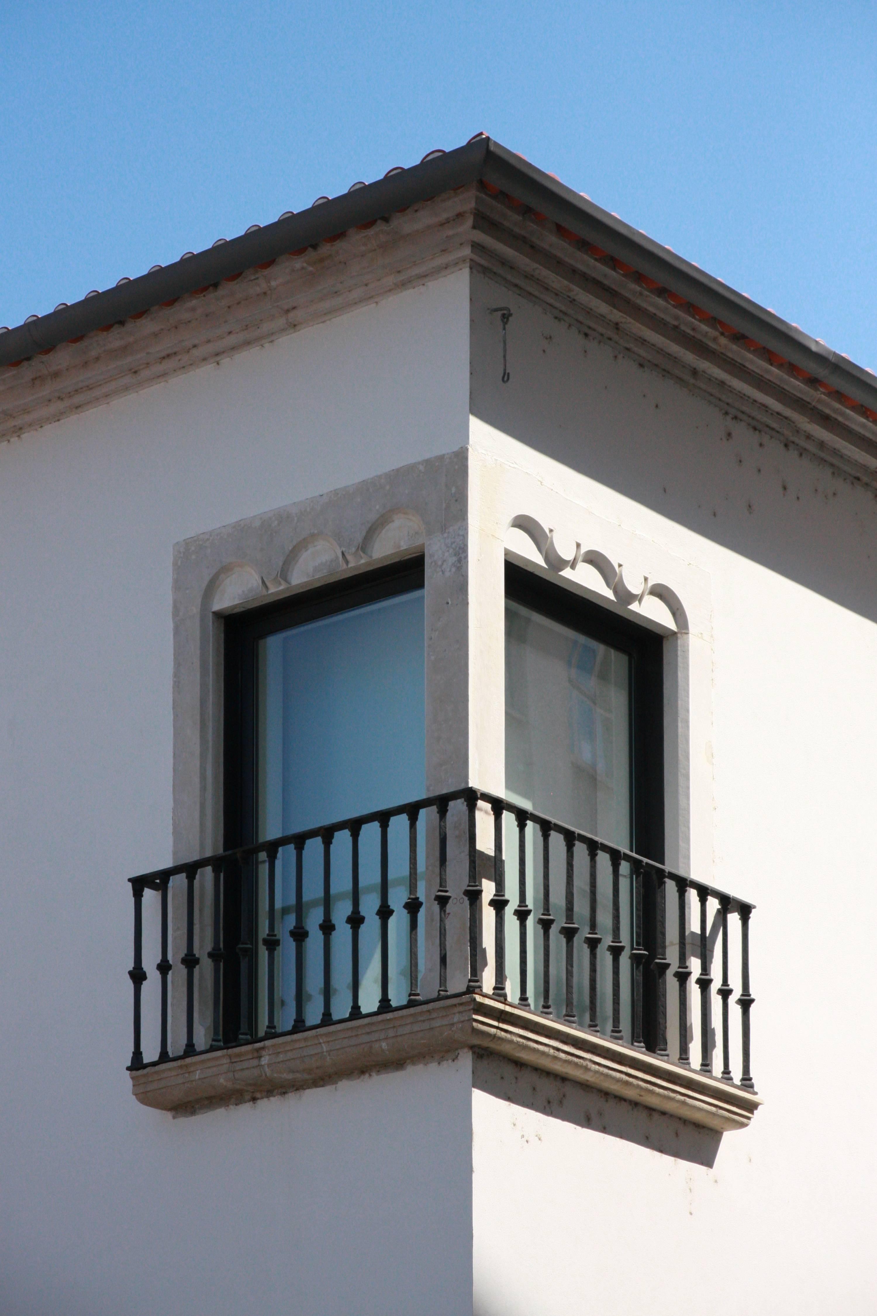 Corner window, Coimbra, Portugal