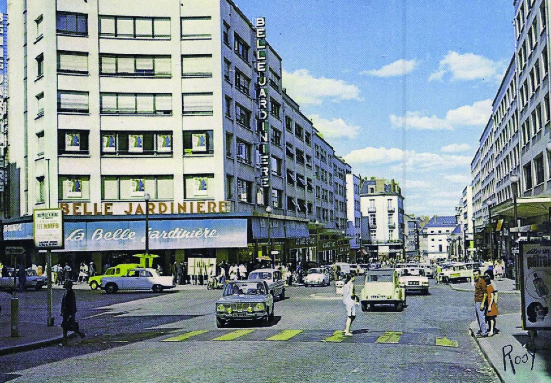 Rue du Calvaire, années 60, Nantes - emplacement locaux actuels urbanmakers