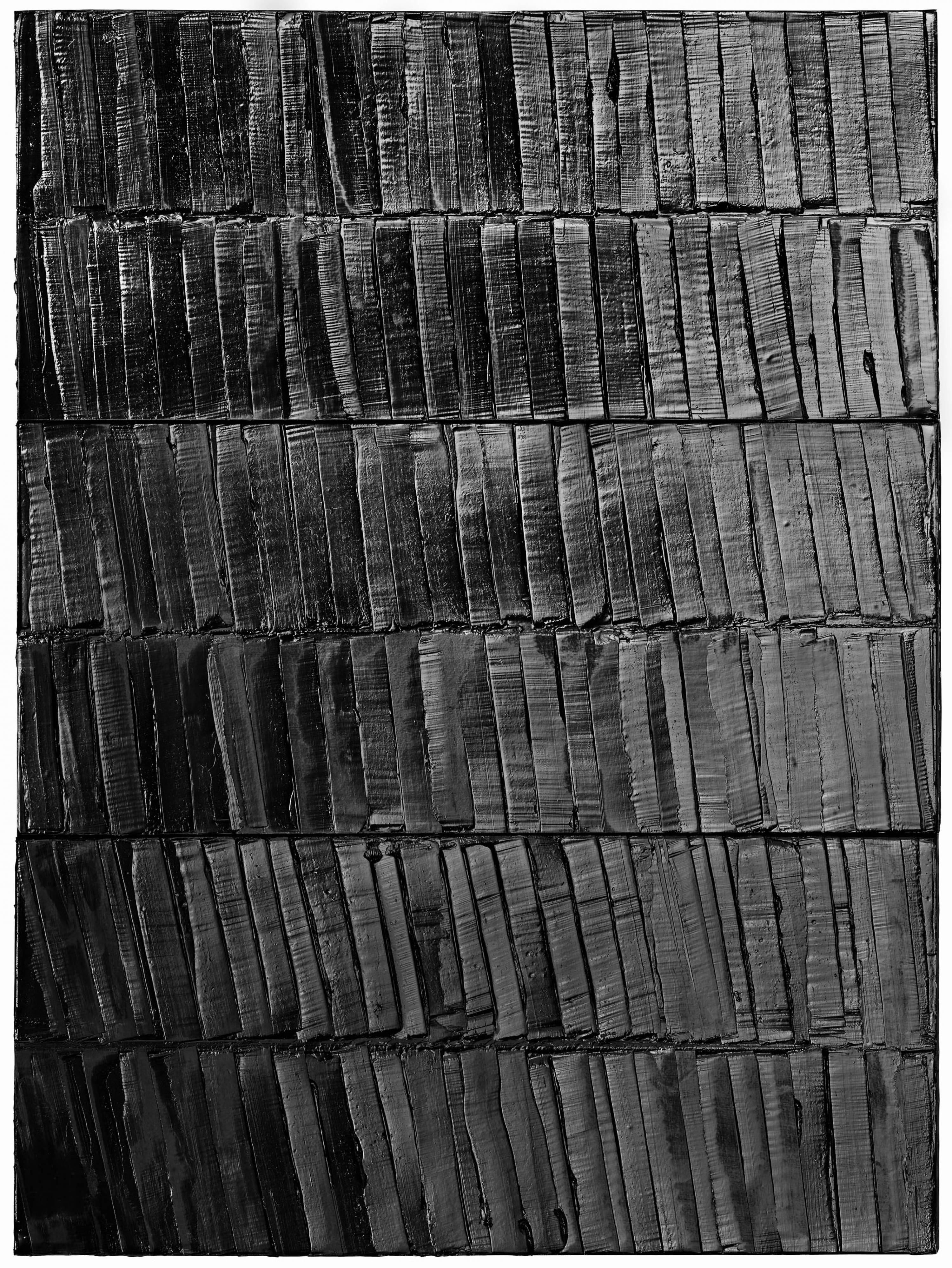 Painting, Pierre Soulages, 2015