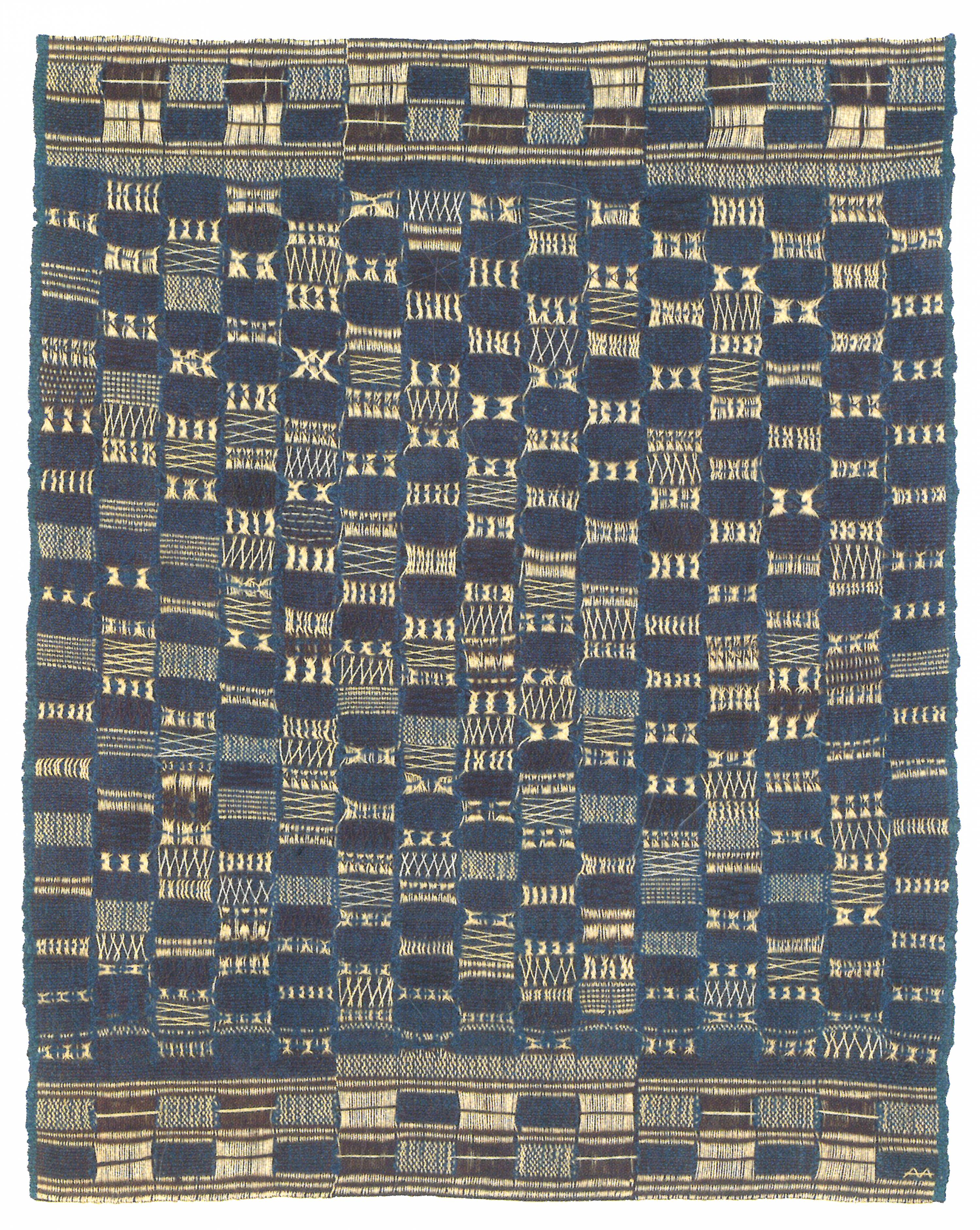 Anni Albers, Thickly settled, 1957, ©Yale university art gallery, New Haven