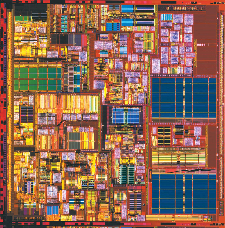 Northwood microprocessor, 0.13µm, Intel Pentium IV