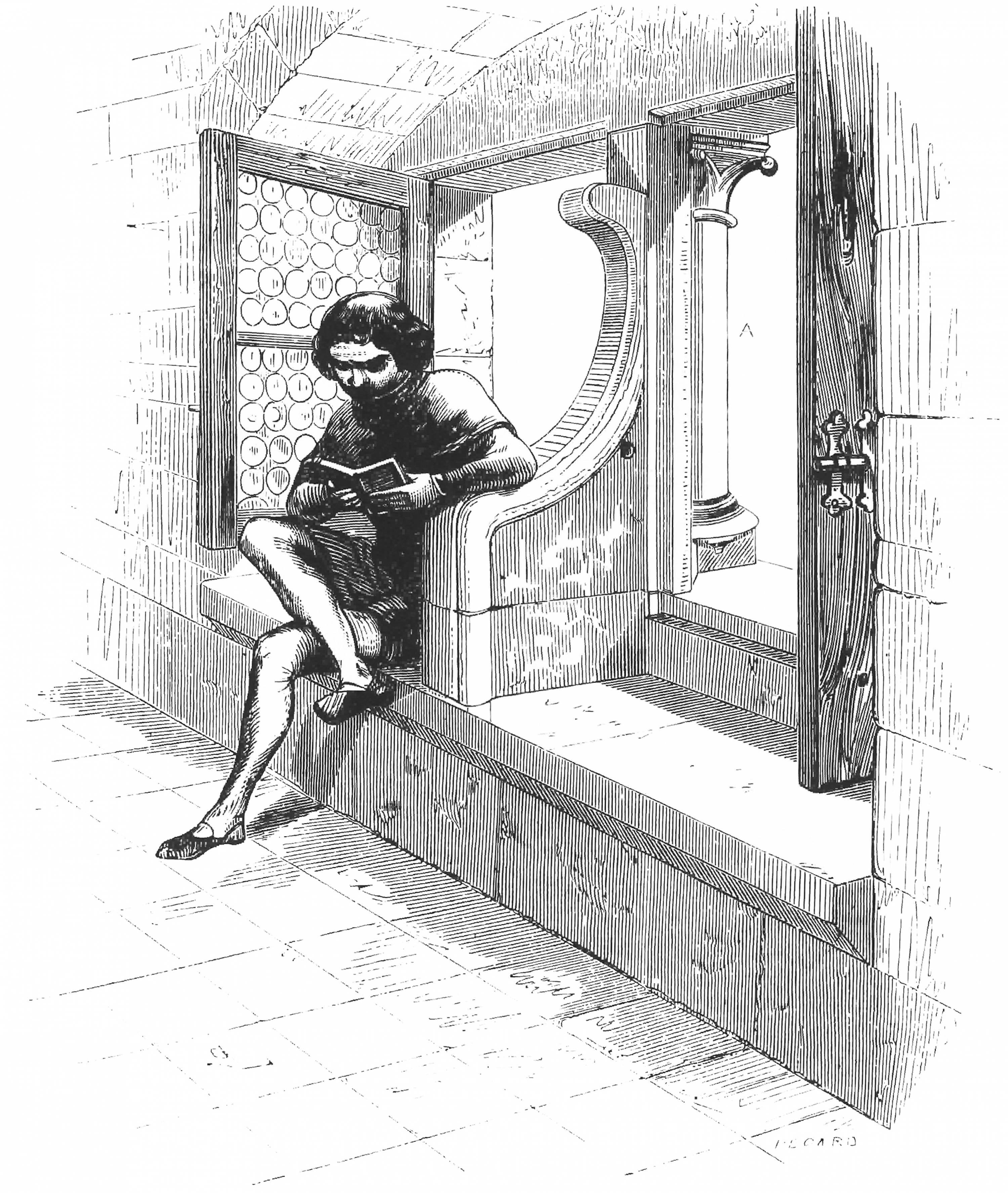 Drawing taken from Dictionnaire raisonné de l'architecture française, Viollet-le-Duc