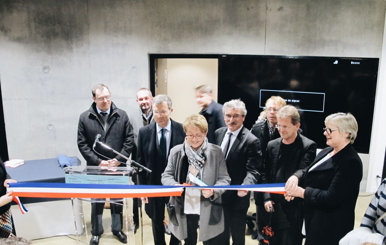 Inauguration Normandie-Saumurois
