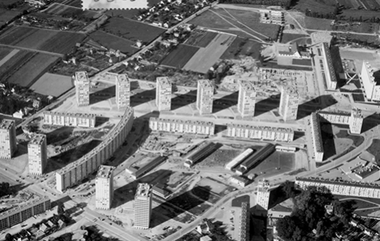 les tours Maurepas à Rennes